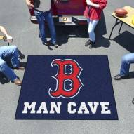 Boston Red Sox Man Cave Tailgate Mat