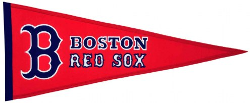 Boston Red Sox Traditions Pennant
