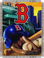 Boston Red Sox MLB Woven Tapestry Throw Blanket