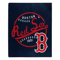 Boston Red Sox Moonshot Raschel Throw Blanket