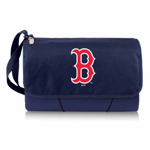 Boston Red Sox Navy Blanket Tote