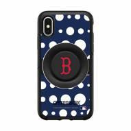 Boston Red Sox OtterBox Symmetry Polka Dot PopSocket iPhone Case