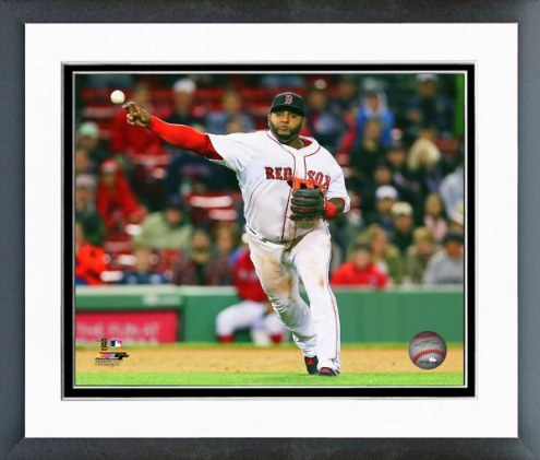Boston Red Sox Pablo Sandoval Action Framed Photo