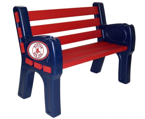 Boston Red Sox Park Bench