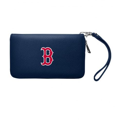 Boston Red Sox Pebble Organizer Wallet