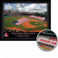 Boston Red Sox Personalized Framed Stadium Print