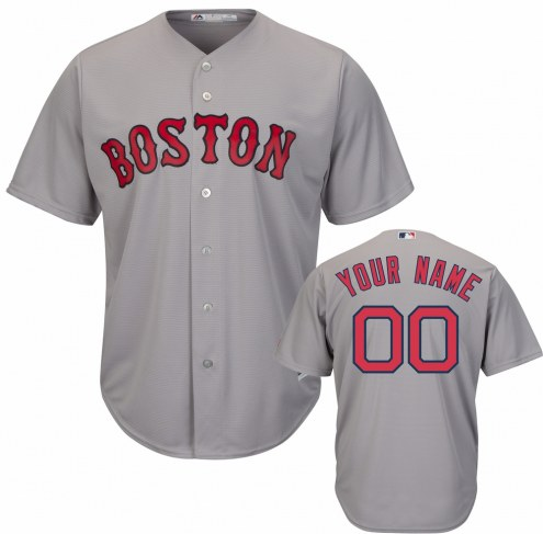 Boston Red Sox Personalized Replica Road Baseball Jersey