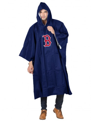 Boston Red Sox Rain Poncho