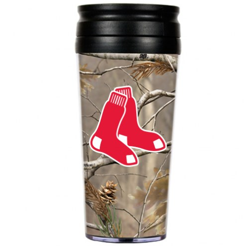 Boston Red Sox RealTree Camo Coffee Mug Tumbler