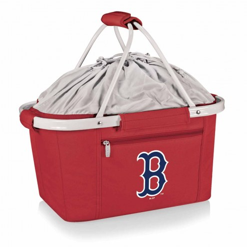 Boston Red Sox Red Metro Picnic Basket