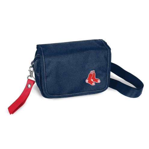 Boston Red Sox Ribbon Waist Pack Purse