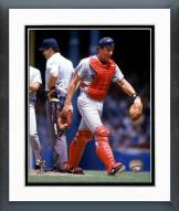 Boston Red Sox Rich Gedman Action Framed Photo