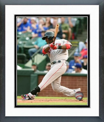 Boston Red Sox Rusney Castillo Action Framed Photo