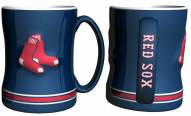 Boston Red Sox Sculpted Relief Coffee Mug