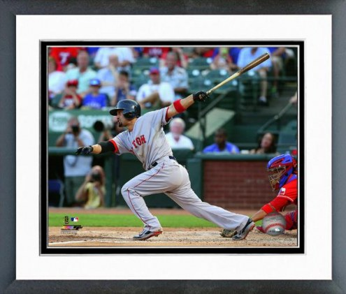 Boston Red Sox Shane Victorino Action Framed Photo