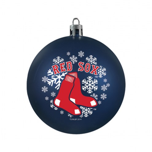 Boston Red Sox Shatterproof Ball Ornament