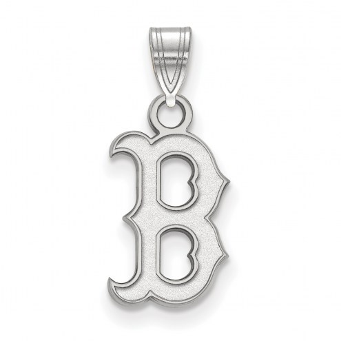 Boston Red Sox Sterling Silver Small Pendant