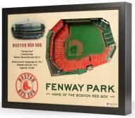 Boston Red Sox 25-Layer StadiumViews 3D Wall Art