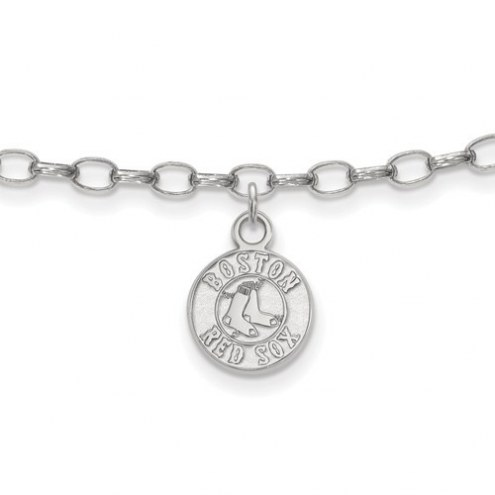 Boston Red Sox Sterling Silver Anklet