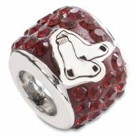 Boston Red Sox Sterling Silver Charm Bead