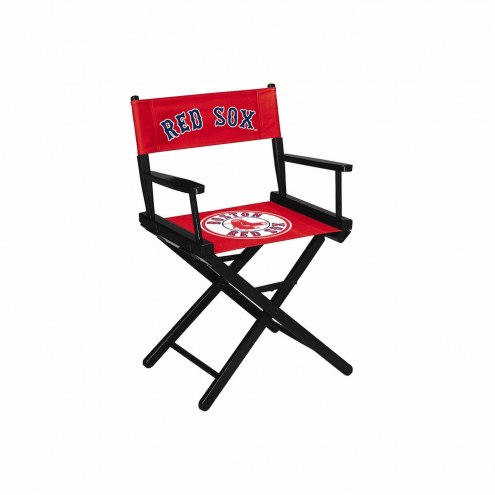 Boston Red Sox Table Height Director's Chair