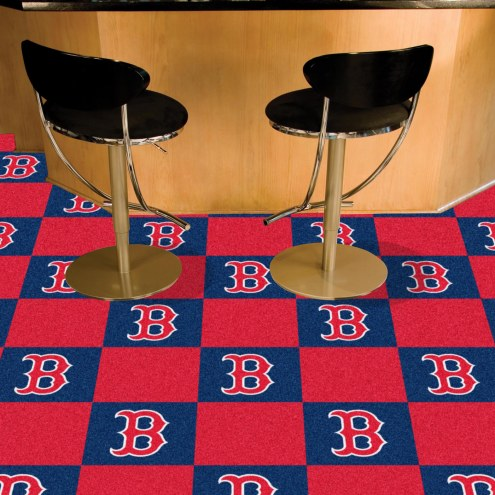 Boston Red Sox Team Carpet Tiles