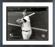 Boston Red Sox Ted Williams 1955 Posed Framed Photo