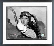 Boston Red Sox Ted Williams Fighter Pilot Framed Photo