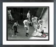 Boston Red Sox Ted Williams Homeplate Framed Photo
