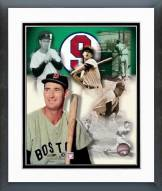 Boston Red Sox Ted Williams Legends Of The Game Composite Framed Photo