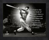 Boston Red Sox Ted Williams MLB Framed Pro Quote