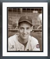 Boston Red Sox Ted Williams Portrait Framed Photo