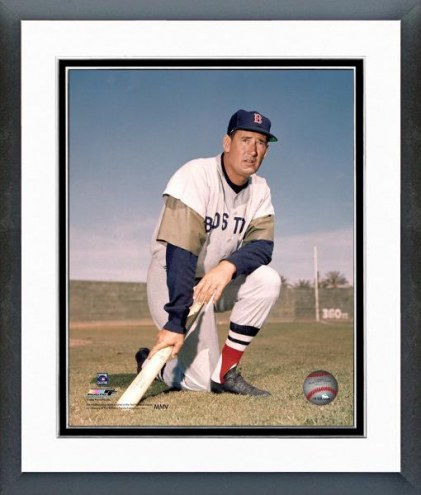 Boston Red Sox Ted Williams Posed Framed Photo