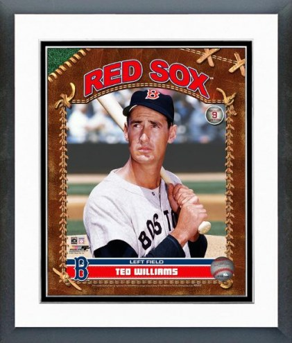 Boston Red Sox Ted Williams Studio Plus Framed Photo