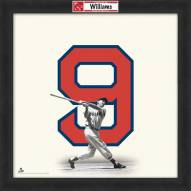 Boston Red Sox Ted Williams Uniframe Framed Jersey Photo