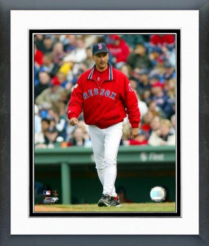 Boston Red Sox Terry Francona Action Framed Photo