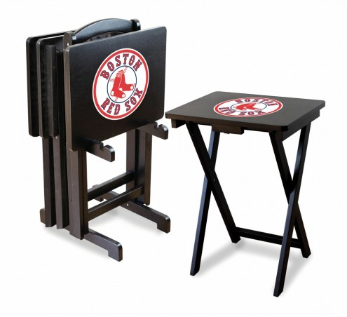 Boston Red Sox TV Trays - Set of 4