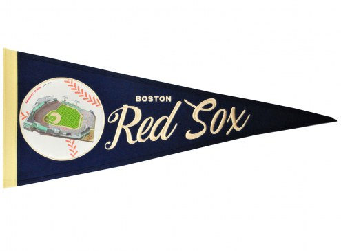 Boston Red Sox Vintage Ballpark Traditions Pennant