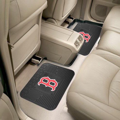 Boston Red Sox Vinyl 2-Piece Rear Floor Mats