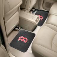 Boston Red Sox Vinyl 2-Piece Rear Floor Mats