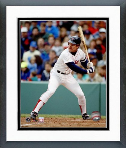 Boston Red Sox Wade Boggs Batting Framed Photo