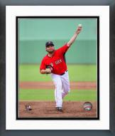 Boston Red Sox Wade Miley Action Framed Photo