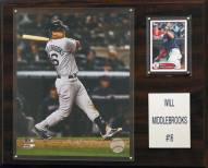 """Boston Red Sox Will Middlebrooks 12"""" x 15"""" Player Plaque"""