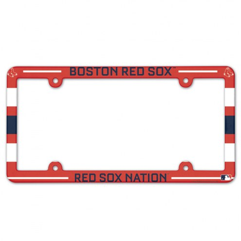 Boston Red Sox License Plate Frame
