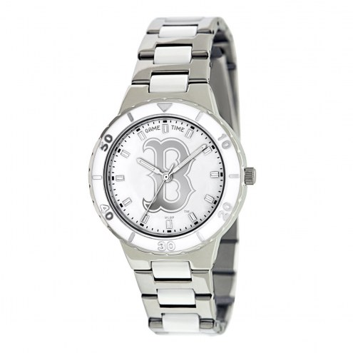 Boston Red Sox Womens Pearl Watch