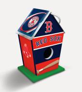 Boston Red Sox Wood Birdhouse