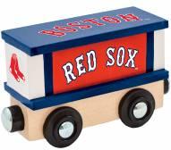 Boston Red Sox Wood Box Car Train
