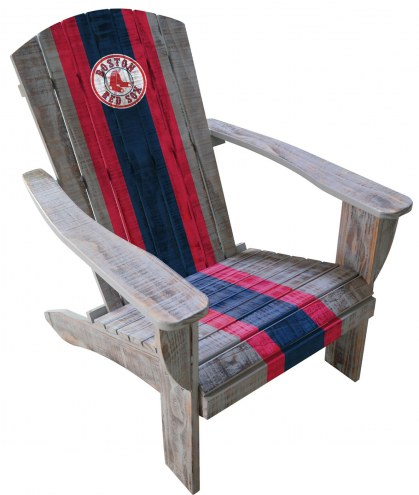 Boston Red Sox Wooden Adirondack Chair