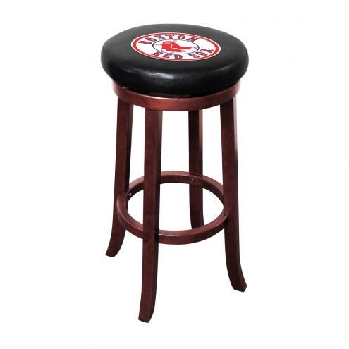 Boston Red Sox Wooden Bar Stool