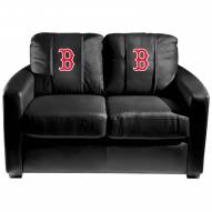 Boston Red Sox XZipit Silver Loveseat with Secondary Logo